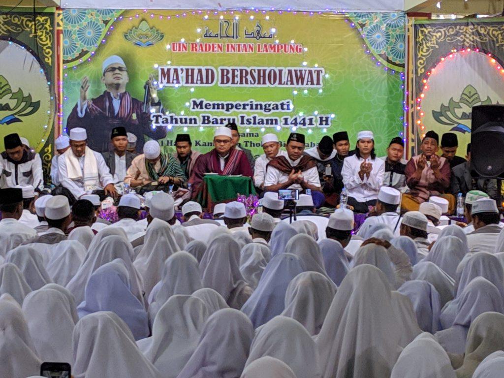 Habib Kamal beserta Pengurus Ma'had Al-Jami'ah UIN RIL